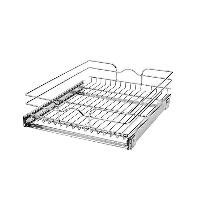 5WB1-1522-CR Rev-A-Shelf 5WB1-1522-CR 22 Inch Base Cabinet Pullout Single Wire Sink Basket