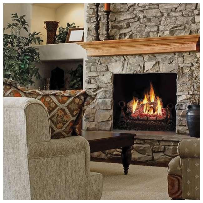 GL30NE Fiberglow 30-Inch Vented Logs for Gas Fireplace 3