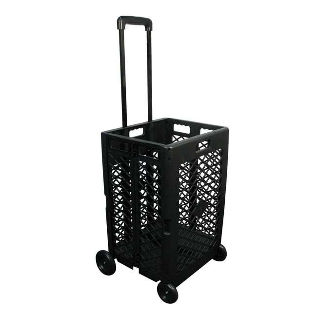 85-404 Olympia Tools 85-404 Pack n Roll Portable Folding Mesh Rolling Storage Cart