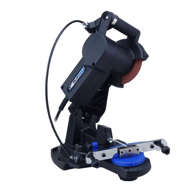 BLMAX-5655 Blue Max 5655 Electric 4,200 RPM Bench Mount Chainsaw Chain Blade Sharpener
