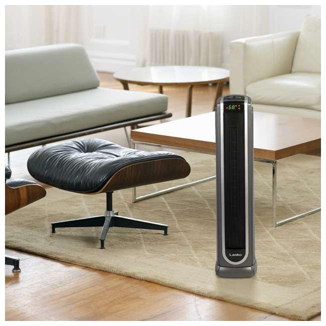 LKO-5572-TN Lasko 5572 Portable Electric 1500W Room Oscillating Ceramic Tower Space Heater 5