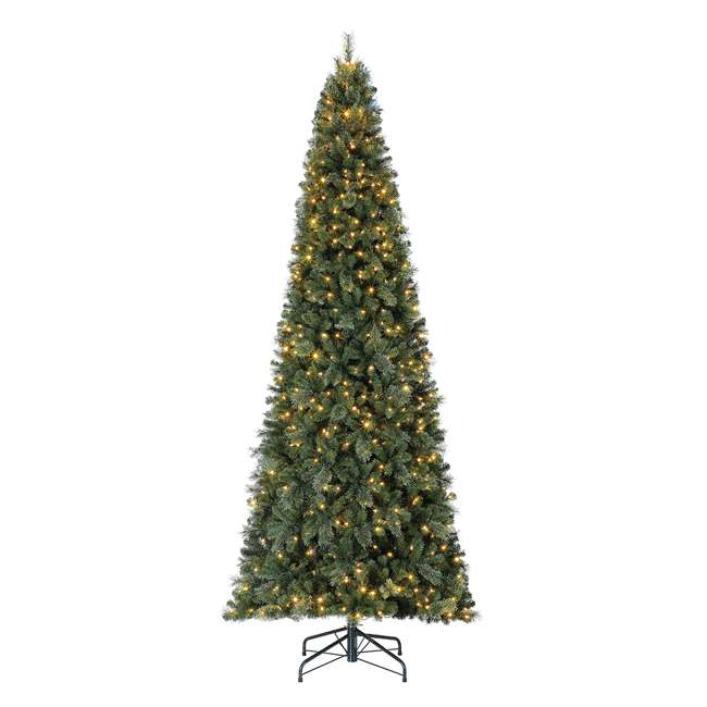 TGC0M3W92D00-U-A Home Heritage 12' Cascade PVC Christmas Tree & Changing LED Lights (Open Box)