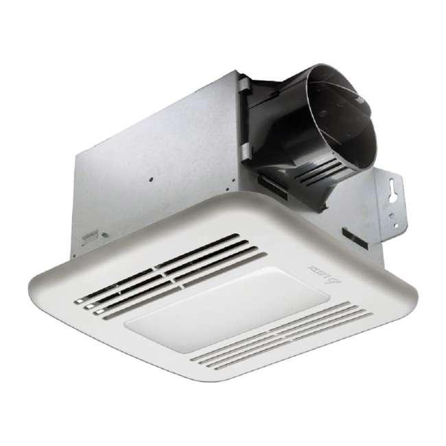 4 x GBR100LED Delta Breez BreezGreenBuilder 100 CFM Bathroom Fan with LED Light (4 Pack) 1
