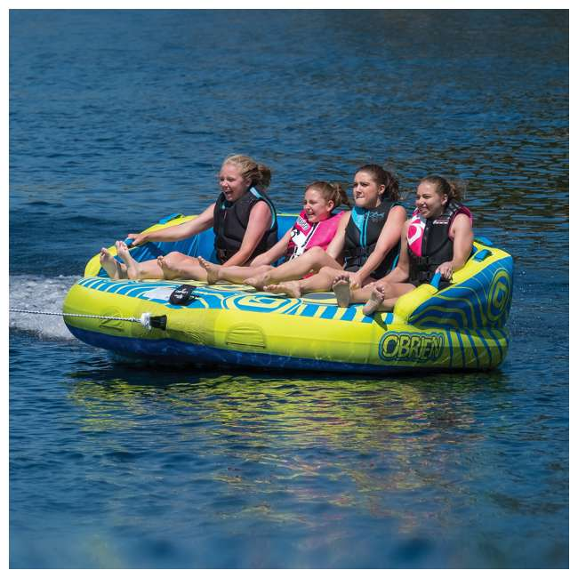 2181558-MW O'Brien Watersports Baller 4 Towable Boat Tube With Up to 4 Person Capacity 3