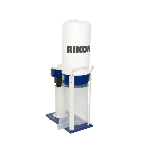 60-100 RIKON Power Tools  Dust Collector with Built In Casters, 1 Horsepower