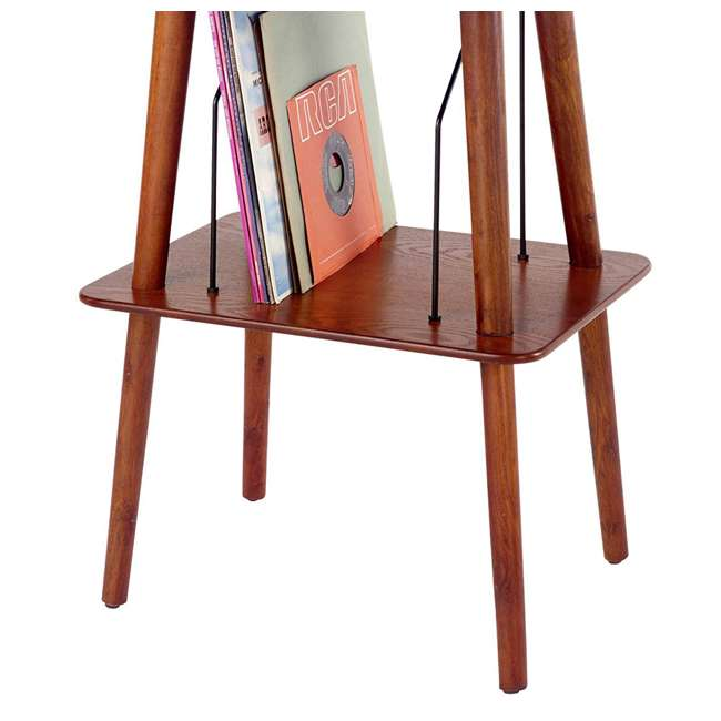 ST66-PA Crosley Manchester Hardwood Turntable Stand, Paprika 4