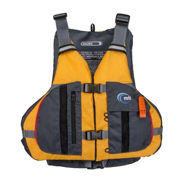 MTI-807L-0EA23 MTI Life Jackets Solaris Adult XS/S Life Jacket, Mango