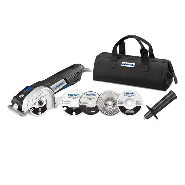 VC60-DR-RT-RB + US40-DR-RT-RB Dremel Rotary Tool & Saw Kit (Certified Refurbished) 10