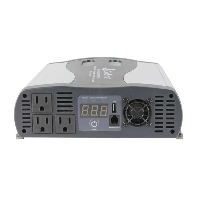 CPI2575 Cobra DC to AC Power Inverter w/USB | CPI2575 3