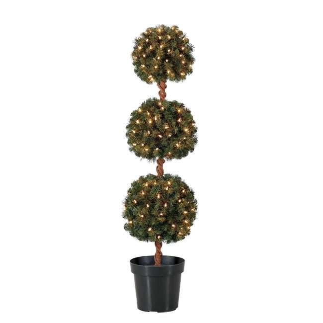 TP40M2W72C09 + TP30M2W72C00 Home Heritage 4 Foot Artificial Tree w/ Lights + Home Heritage 3 Foot Artificial Tree w/ Lights 1