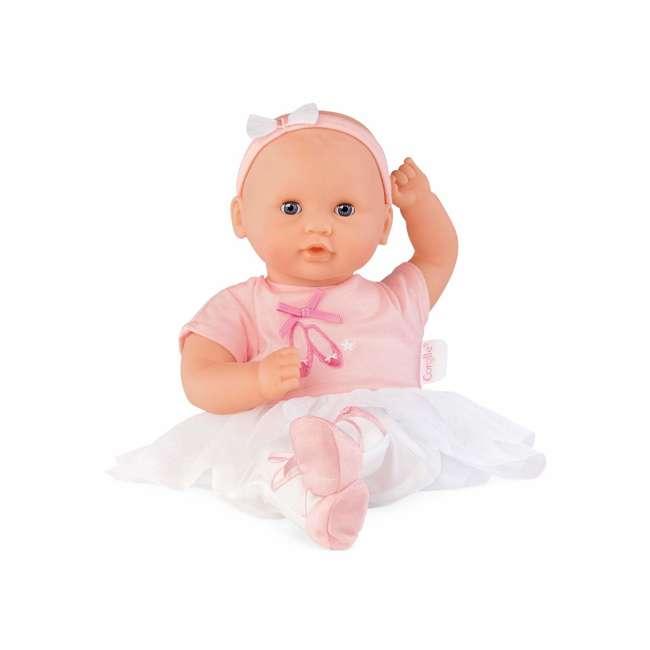 CJJ27 Corolle Mon Premier Bebe Calin Ballerina 12 Inch Vanilla Scented Baby Doll Toy 3