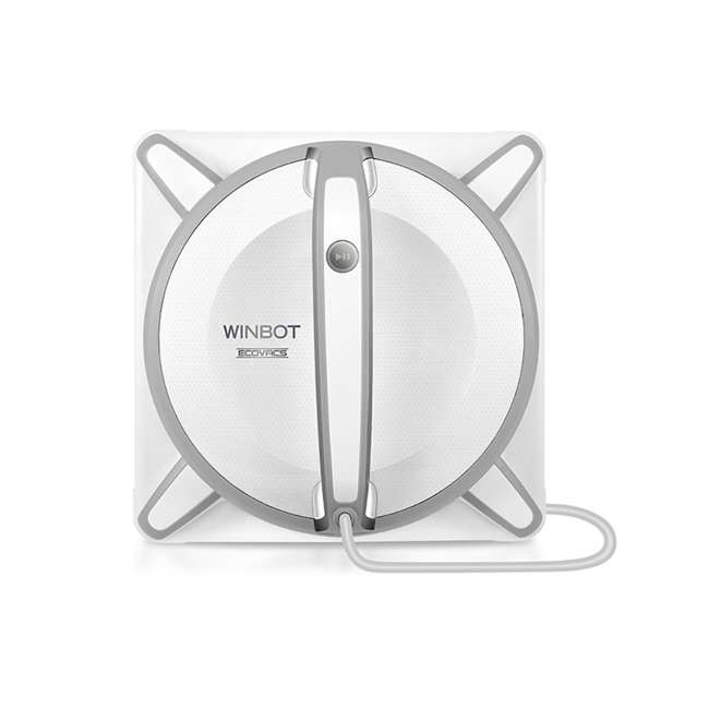 WINBOT930-U-C Ecovacs WINBOT 930 Microfiber Pad Window Cleaning Robot White(For Parts)(2 Pack)