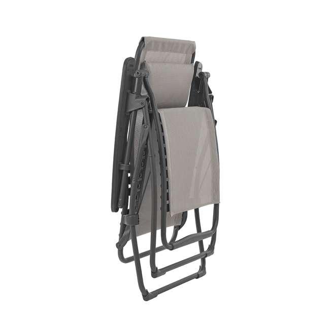 LFM3118-8548-U-A Lafuma Futura Zero Gravity Outdoor Steel Framed Lawn Recliner Chair (Open Box) 1