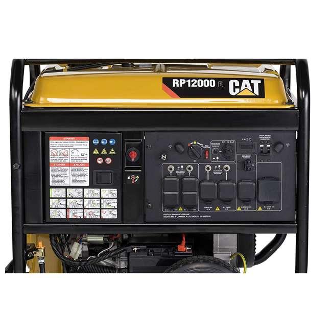 CAT-502-3699 CAT RP12000E 12000 Watt Running/15000W Starting Gas Powered Portable Generator 3