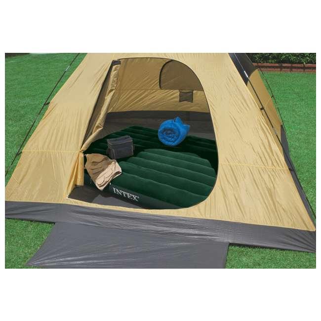 66929E-U-A Intex Queen Downy Air Bed Camping Mattress w/ Pump 66929E (Open Box) (2 Pack) 3