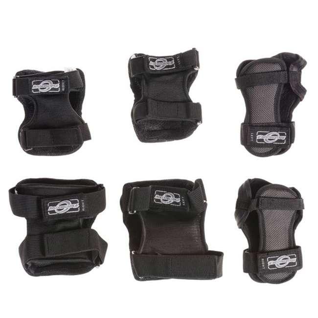 06320200001-M Rollerblade Bladegear XT Adult Skate Gear 3 Pack Set, Black 2