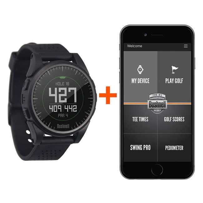 BGOLF-368752 Bushnell Golf Excel Bluetooth GPS Rangefinder Watch, Charcoal 5