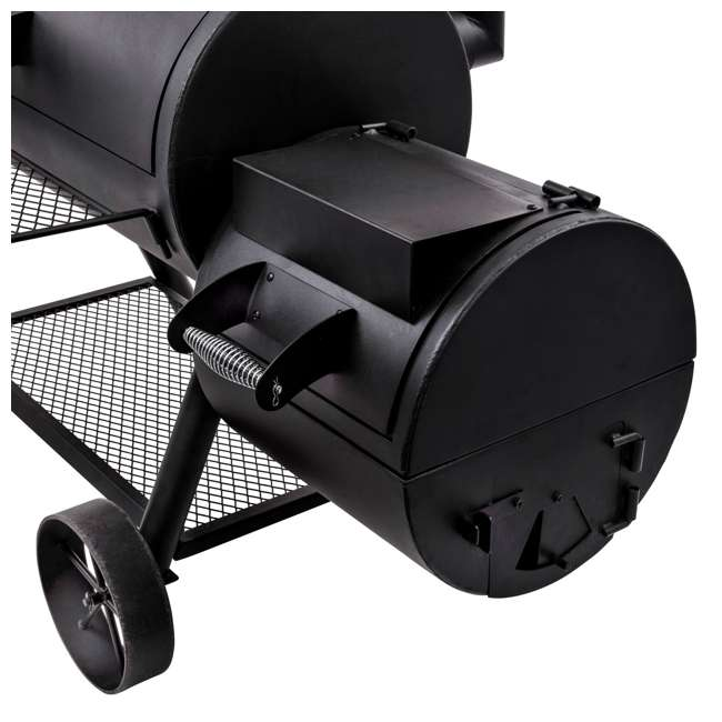 Char Broil Oklahoma Joe S Longhorn Offset Backyard Smoker
