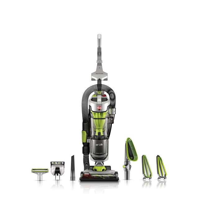 UH72511_EGB-RB Hoover Air Lift Deluxe Bagless Upright Vacuum Cleaner (Certified Refurbished)