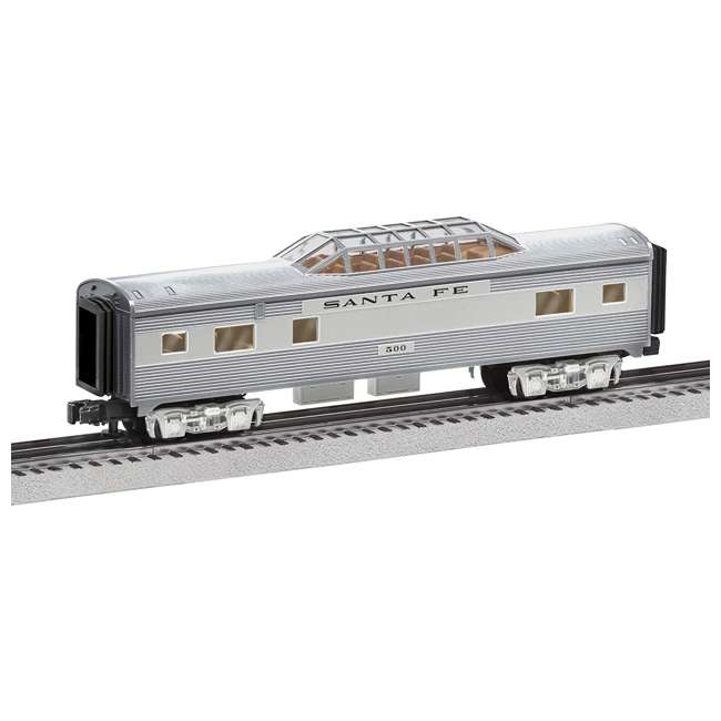 684725 Lionel 684725 Santa Fe Add-On Vista Dome Train for Ready-to-Run Super Chief Set
