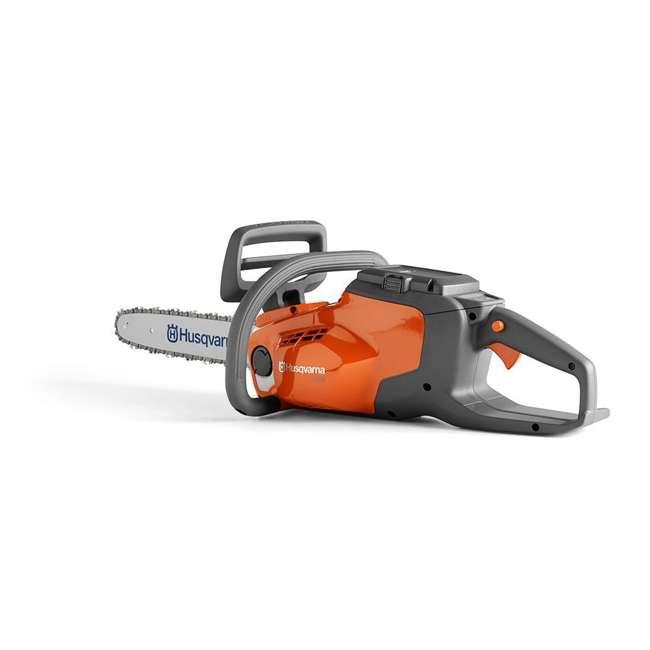 HV-CS-967098102 + HV-TOY-522771104 Husqvarna 14-Inch Brushless Chainsaw and 440 Toy Childrens Chainsaw, Orange 2