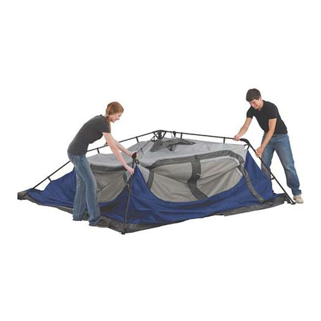 2000024350 Coleman 6-Person Instant Cabin Family Camping Tent With Rainfly 3