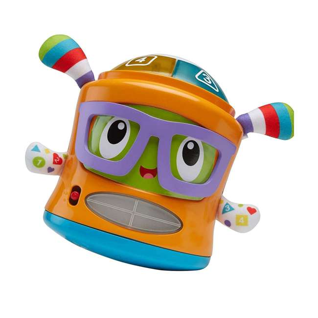 DYM08 Fisher Price DYM08 Franky Beats Bat & Boogie Baby Learning Activity Play Toy