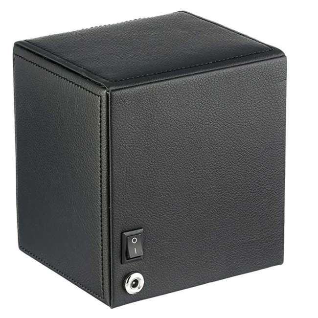 455203 WOLF 455203 Howard Cub Compact Electric Single Watch Winder Case with Cover 1