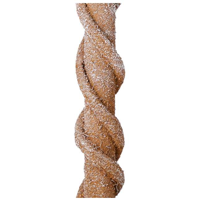 TP40M2W72C09 Home Heritage 4 Ft Artificial Tree w/ Clear Lights for Entryway Decor (2 Pack) 6