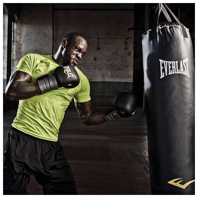 P00001220 Everlast Nevatear Fitness Workout 70 Pound Heavy Boxing Punching Bag, Platinum 1