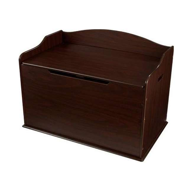 Kidkraft Austin Wood Toy Box Chest Bench Espresso 14956