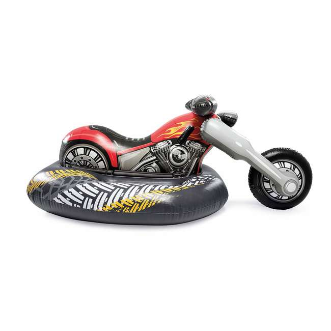 57534EP Intex 57534EP Cruiser Motorcycle Inflatable Ride-On Pool Float Toy for Ages 3+ 2