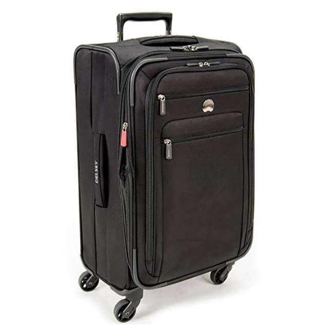 """40328182000 DELSEY Paris Sky 2.0 Lightweight 25"""" Expandable Spinner Travel Luggage, Black 1"""