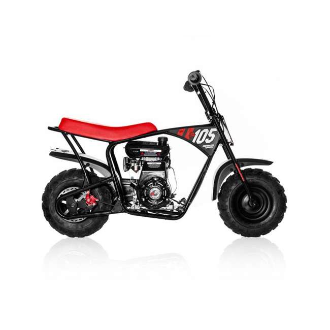 MM-B105 Monster Moto 105cc Gas-Powered Off-Road Mini Dirt Bike  6
