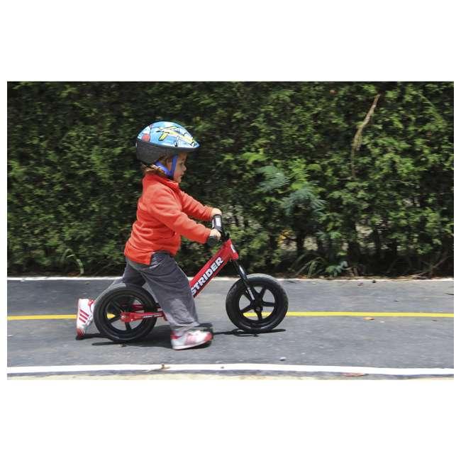 ST-S4RD Strider 12 inch Sport Toddler Training Adjustable Balance Bike, Red (2 Pack) 3