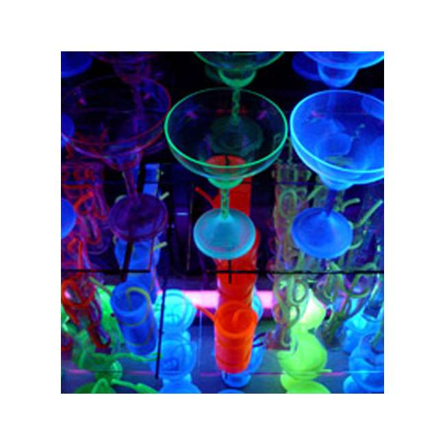 3 x TFX-UVLED Chauvet LED Shadow TFX-UVLED 3 Channel UV Blacklight Panel Lights (3 Pack) 4