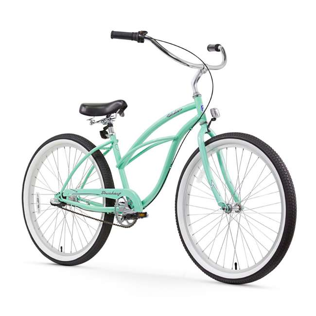 "14602-FM Firmstrong Urban Lady Women's 26"" 3-Speed Cruiser Bike, Mint"