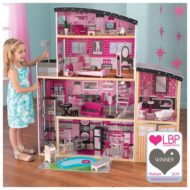 65826 KidKraft Sparkle Mansion Dollhouse 1