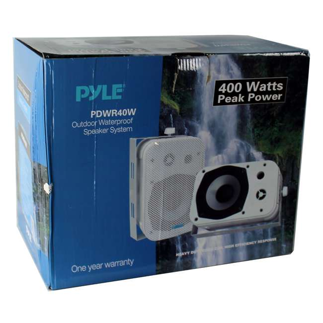 PDWR40W Pyle PDWR40W 5.25-Inch Indoor/Outdoor Waterproof Speakers (Pair) 4
