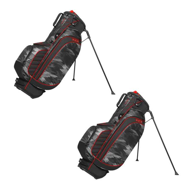 Ogio Stinger 8 Way Top Golf Stand Bag Urban Camo Red 2