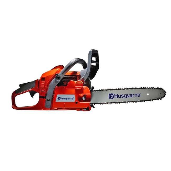HV-CS-966761807-U-A Husqvarna 135 16 Inch Bar 40.9cc 2 HP 2 Cycle Gas Powered Chainsaw (Open Box) 1