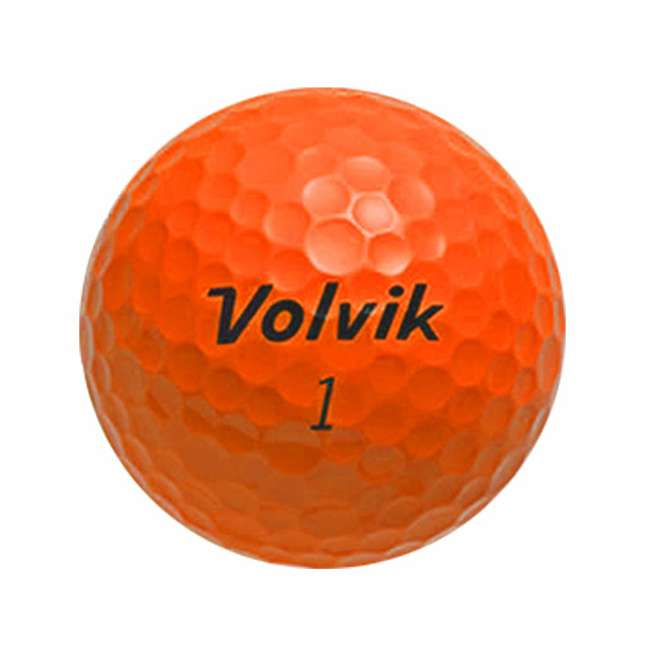 DS-55 (Orange) Volvik DS55 Dual Spin 12 Pack of Golf Balls, Orange 1
