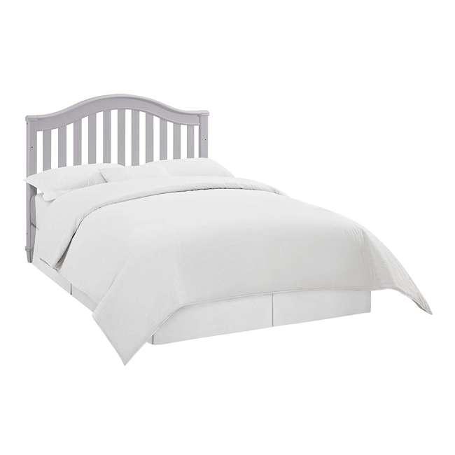 04565-40F Thomasville Kids Auburn 4-in-1 Convertible Baby Crib, Pebble Gray 4