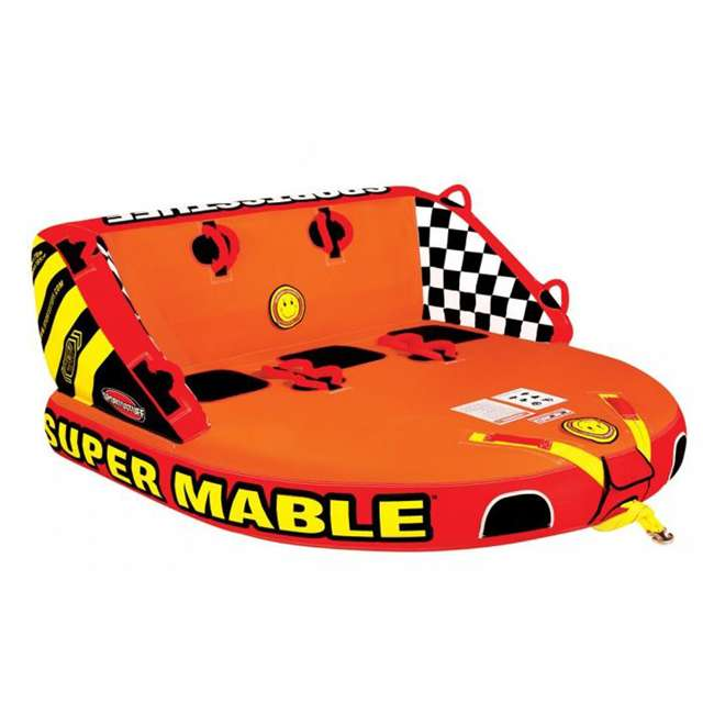 53-2223-OB Airhead SPORTSSTUFF Super Mable Triple Rider Lake Boat Towable Tube | 53-2223