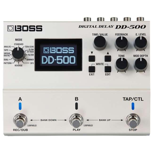 DD-500-OB Boss DD-500 Digital Delay Effects Guitar and Bass Pedal (Used) 1