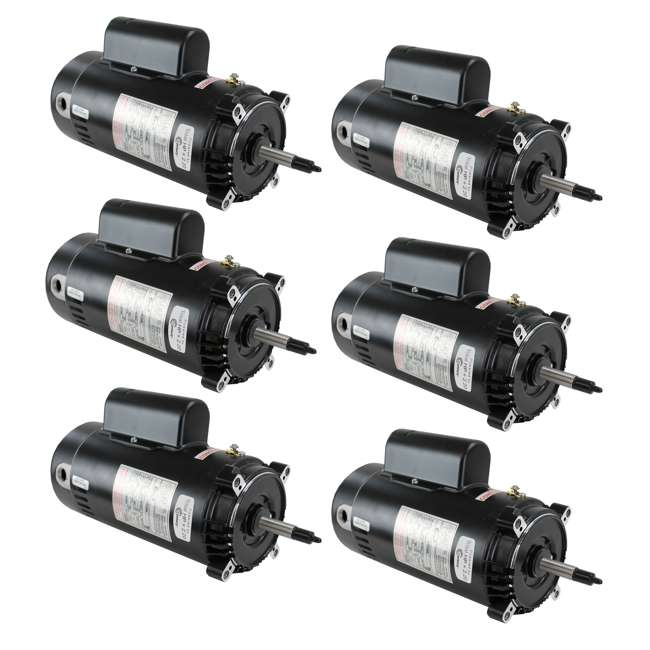 6 x UST1202 A.O. Smith Century C-Face Up-Rated Replacement Pool Motor | UST1202 (6 Pack)