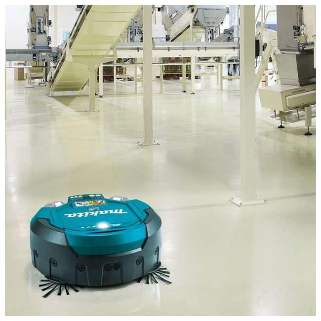 DRC200Z-OB Makita 18V X2 LXT Lithium-Ion Brushless Cordless Robotic Vacuum (Open Box) 2