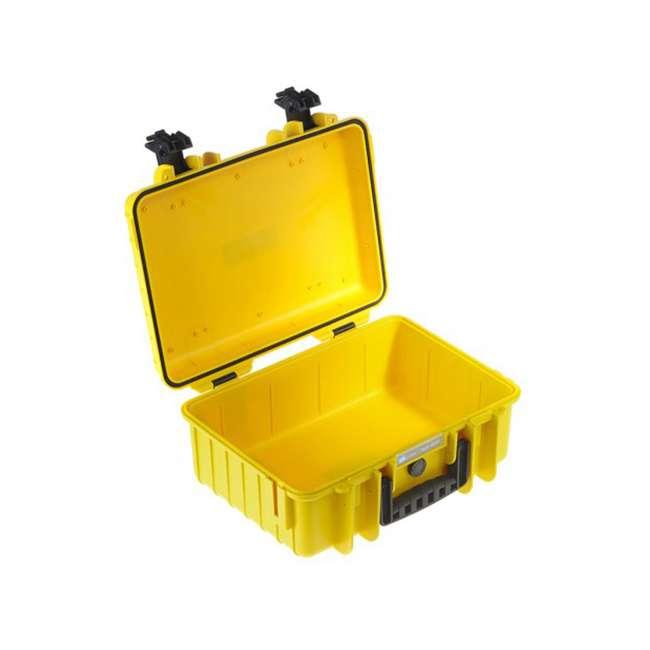 4000/Y B&W International 4000/Y Hard Plastic Polypropylene Outdoor Storage Case, Yellow 1