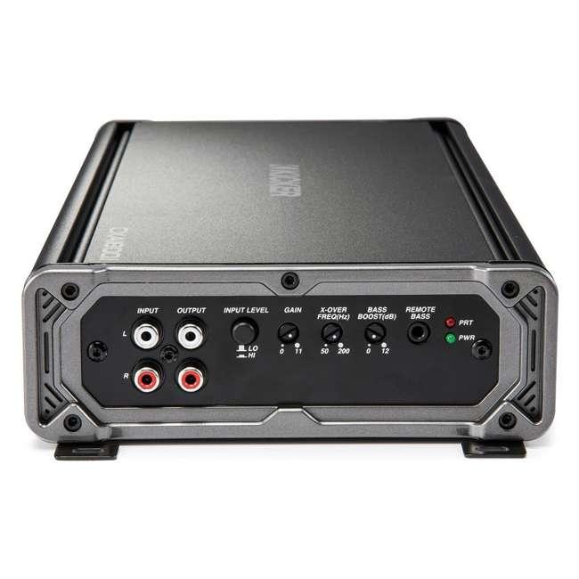 46CXA18001 Kicker CX1800.1 1800 Watt Mono Car Amplifier, Black  4