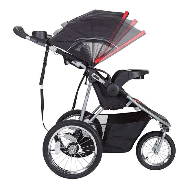 JG75B47A Baby Trend Cityscape Infant Safe Lightweight Sporty Jogger Stroller, Jolt Red 5